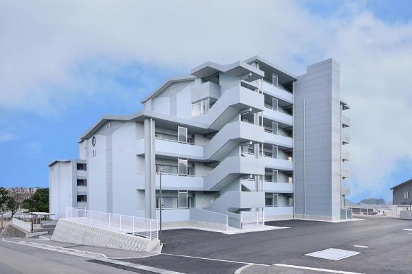 辻ケ丘住宅31号棟新築本体工事