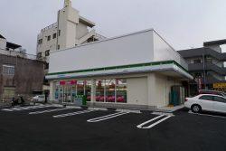 ファミリーマート脇田電停前店改修